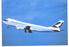 Cathay Pacific Cargo Airways Boeing 747-267F Postcard