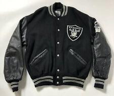 Vintage 80s DeLong Oakland Raider Football Varsity Jacket SuperBowl Champions
