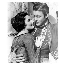 Guy Williams as Don Diego de la Vega Zorro Holding onto Woman 8 x 10 inch photo