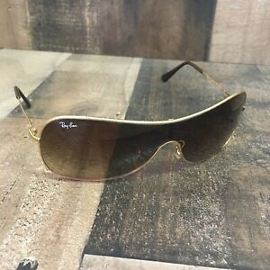 Ray Ban RB 3211 001/13 SMALL 3N GOLD SHEILD FRAME Sunglasses (A1-6)
