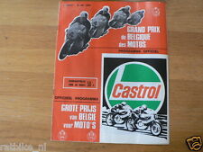 B 1975 HONDA GRAND PRIX BELGIUM SPA FRANCORCHAMPS  6-7-75 PROGRAMMA,CECOTTO