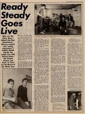 Secret Affair Purple Hearts Mod UK Interview/article 1979 MM-WBVI