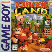 Donkey Kong Land - 1995 Platformer - (Everyone) - Nintendo Game Boy