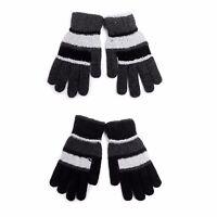 Ladies' Dark Knit Winter Gloves (LFG64-65)