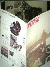 RARE PROSPECTUS YAMAHA  250 RD 1973/76