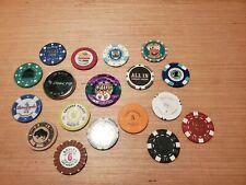 Poker WSOP World Series of Poker Casino Chip/Foreign Chip LOT! (18) RARE!