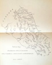 § CAMPAGNA ITALIANA 1866 - CARTINA MARCHE