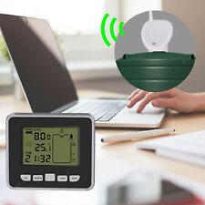 Ultrasonic Water Tank Level Meter Monitor Liquid Depth Sensor Time Indicator