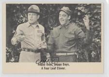1965 Fleer Gomer Pyle USMC #34 Hapy days happy a four leaf clover Card 0j0