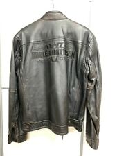 """HARLEY DAVIDSON Jacke Gr. L """"Distressed Brown Leather Steadfast"""" 97029-11VM"""