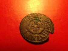 RARE Sweden 1638 Livonia Queen Chistina RIGA solidus silver Medieval coin shill