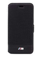 BMW M Perfo. Embossed Line Black Booktype Case for iPhone 6 Plus / 6s Plus 5.5