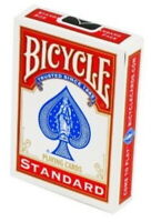 Red Bicycle Poker Size Standard Index Playing Cards, Magic Trick