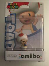 Nintendo Super Mario Series TOAD Amiibo Figure Sealed Unopened US NA Version