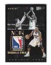 2015-16 Noir Acetate Noir Prime Tag Shaquille O'Neal /5 Rare NBA Logo A3605