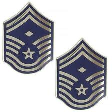 USAF Air Force Metal Chevron Senior Master Sergeant First Sergeant (Made in USA)