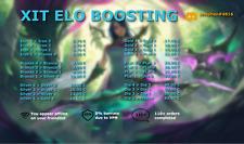 XIT🚀 | EUW | League of Legends Account Boost | LoL Eloboost | Elo Boosting