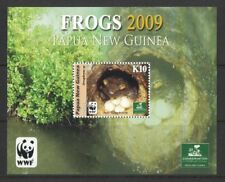2009 Papua New Guinea Frogs MS SG 1303 MUH