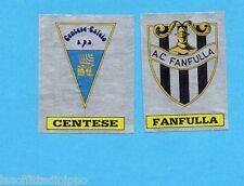 PANINI CALCIATORI 1985/86 -FIGURINA n.594- CENTESE+FANFULLA -SCUDETTO-Rec