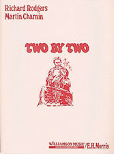 Two by Two Richard Rodgers Musical Complete Vocal Score Piano Sheet Music