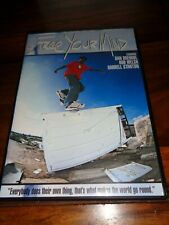 FREE YOUR MIND SKATEBOARDING DVD