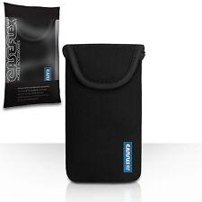 Caseflex Accessories For The Sony Xperia Z3 Black Neoprene Pouch Case Cover