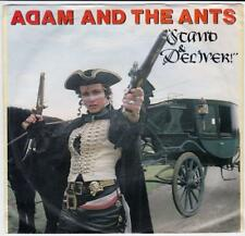 Adam And The Ants - Stand And Deliver, 45 Single Record,