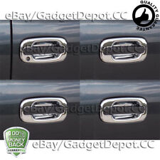 For 2002 2003 2004 2005 2006 Chevrolet Avalanche Chrome Door Handle Bowls