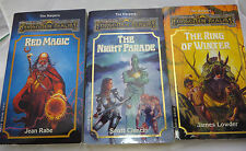 Tsr Forgotten Realms Harpers 3 4 5 Red Mage Night Parade Ring Winter book lot