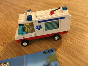 Lego City Town Set 6666 Ambulance (1994).