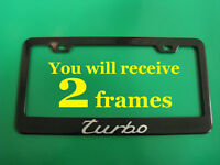 SB *PASSAT* mirror Stainless Steel license plate frame w//s.caps