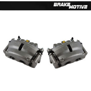Front Brake Calipers For Buick Enclave Chevy Trailblazer GMC Acadia Envoy