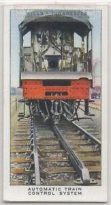 Modern Automatic Railroad Signal Control System 1930s Trade Ad Card