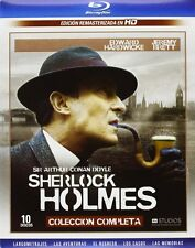 SHERLOCK HOLMES Adventures-Case Book-Memoirs-The Return-Films **Blu Ray B**