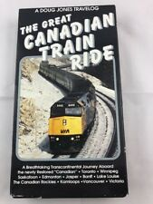 The Great Canadian Train Ride (VHS)