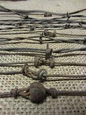 Vintage Iron Barb Wire Collection > Antique Old Rusty Decor Western Rustic 9258