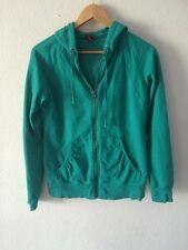 Merona Hoodie Zip Up Sweatshirt Jacket Hooded Top Size S Uk 10 <R97