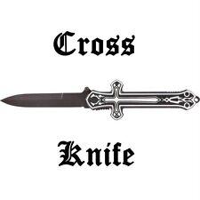 """CROSS 9"""" Linerlock Folding Knife NEW Fast Shipping SKCROSS"""