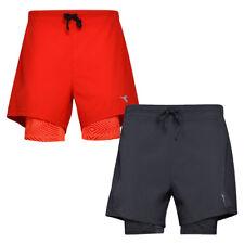 DIADORA DOUBLE LAYER BERMUDA SHORTS `18 Herren Fitness Shorts Laufhose 102172839