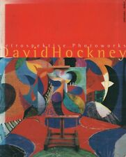 "ART BOOKS - ""RETROSPEKTIVE PHOTOWORKS"" BY DAVID HOCKNEY - UMSCHAU BRAUS (1997)"