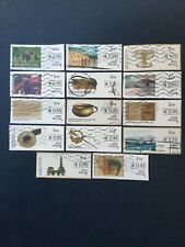 Ireland. Post And Go.  14 Stamps With BOXED IN Values. As Illustrated.