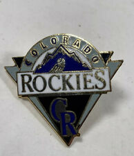Colorado Rockies primary logo lapel pin MLB