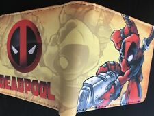 MARVEL Deadpool Wallet Purse Mens Kids Comic Movie Cartoon Anime PS4 Xbox *AUS*