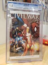 Civil War #2 Variant Cover CGC 9.8 (8/06)