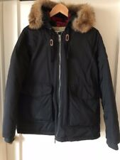 Women's black Woolrich Parka Coat, Medium