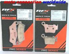 RFX Pro Serie Pastillas de freno delanteras y traseras para ktm EXC125 EXC200 EXC250 EXC300 2012