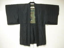 Japanese Kimono Silk Men's HAOR BROWN FUJI MOUNTAIN HORSE (MHA574)