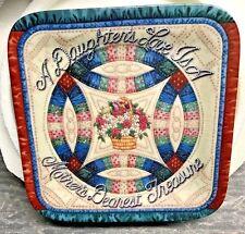 "1997 Bradford Exchange ""Dearest Treasure"" Plate By Mary Ann Lasher Nos w/ Coa"