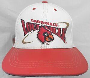 Louisville Cardinals NCAA Modern Genuine Leather adjustable cap/hat