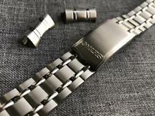 19mm Seiko bellmatic,sports,diver mens watch bracelet strap curve lug band new